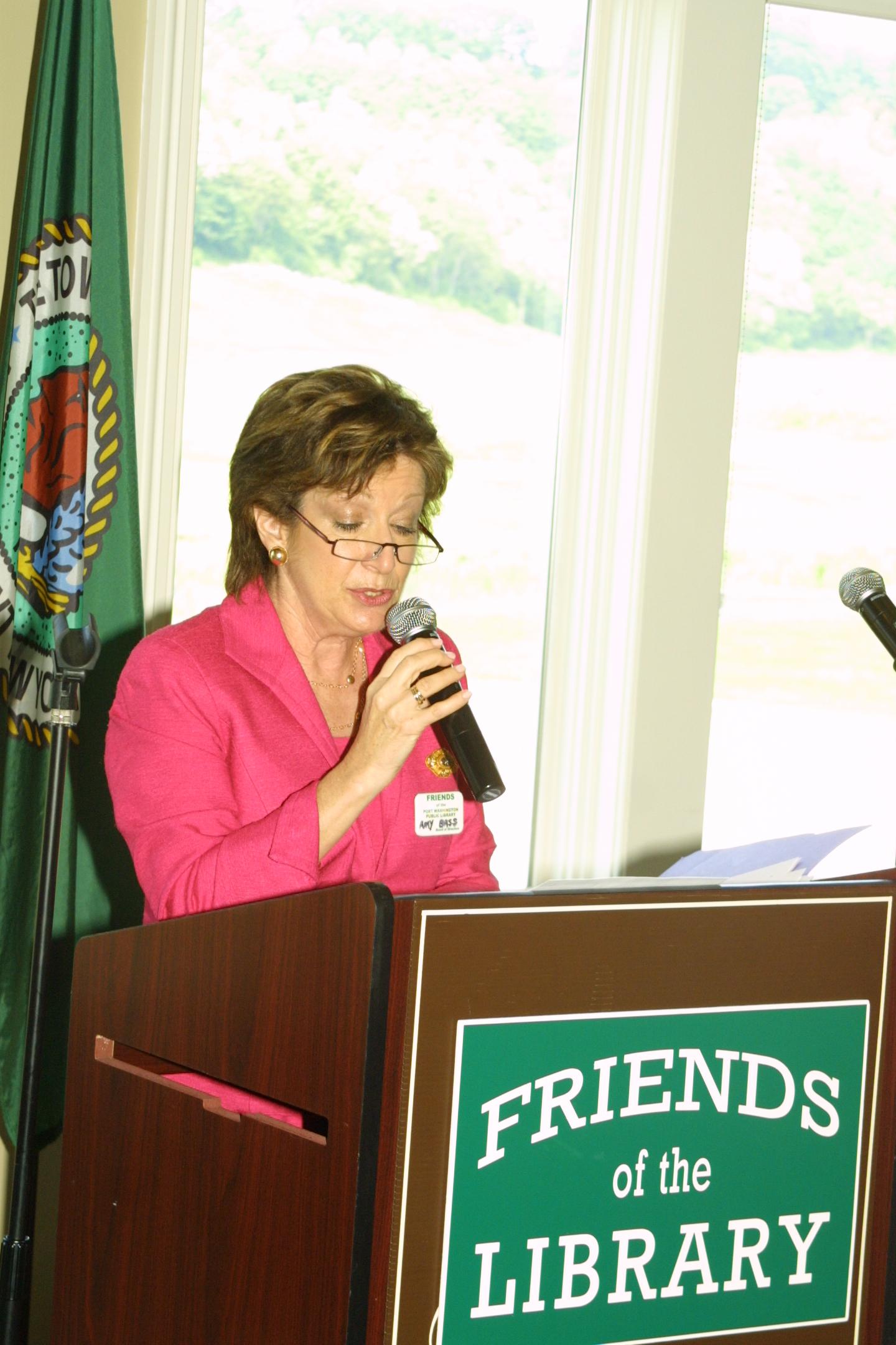 FOL President Amy G. Bass