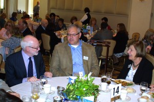 Author David Nasaw, Michael Zimmerman, and FOL vice president Ellen Zimmerman