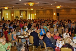 Attendance at the luncheon exceeded 300, a new record!