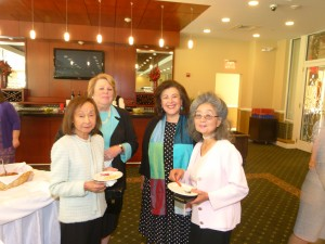 Toshiko Mape, Jane Mason, Susan Isaacs, and Yosuko Yamaguchi